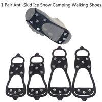 1Pc Copriscarpe Antiscivolo Campeggio per Arrampicata su Neve Antisdrucciolev LF