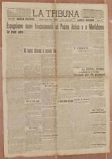 LA TRIBUNA 3 LUGLIO 1916 POSINA ASTICO MONFALCONE MAGHALHAES LIMA RIETI FABRIANO