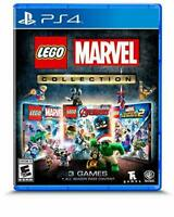 Lego Marvel Collection (PlayStation PS4) Avengers Super Heroes 1 & 2 Season Pass
