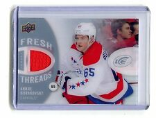 2014-15 Fresh Threads FT-AB Andre Burakovsky Capitals Jersey jh17