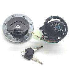 Ignition Switch Fuel Gas Cap Lock Key Kit For kawasaki ZX6R 2000-2002 ZX9R 94-03