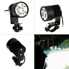 2x Motorcycle Headlight Spotlight Fog Lamp 4LED IP65 for Scooter E-bike ATV Car