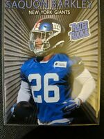 SAQUON BARKLEY Rated Rookie Card 2018 Rookie N.Y. Giants ACEO Novelty Card HOT