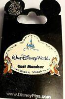 Walt Disney World, Cast Member, Dream Maker, Chip & Dale Pin