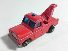 GUISVAL - Land Rover Crane Truck Tower Diecast Made in Spain