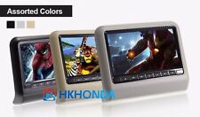 """1PC 9"""" inch color Screen Headrest DVD Monitor Built-in DVD CD Player For Hyundai"""