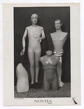 PHOTO MANNEQUIN HOMME NOVITA Surréalisme Surréaliste 1930 Pichonnier Nu Buste