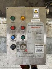 British Rail Mk3 CDL (door Locking) Control Panel