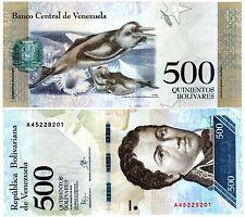 VENEZUELA Billet 500 BOLIVARES 2016 ( 2017 ) NEW NOUVEAU DAUPHINS UNC NEUF