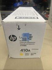 New Genuine HP 410A  (CF251AM) Yellow Toner Cartridge