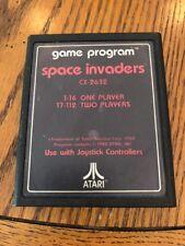 Space Invaders (Atari 2600, 1980) No Case No Manual
