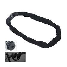5 Digit Combination Bike Lock Chain Safety Heavy Duty Security Padlock 900mm