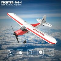 RC Plane 4CH Airplane Aircraft Built In Gyro System Easy To Fly RTF Sport Cub