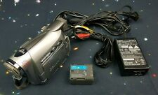 Canon ZR300 MiniDV Camcorder 22x Optical Zoom High Metal with Extras
