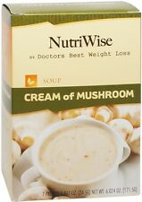 NutriWise - Cream of Mushroom High Protein Diet Soup