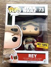 Funko POP! Star Wars Rey Vinyl Figure #73 Hot Topic Exclusive