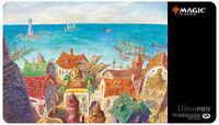 NEW MTG/Magic Mercadian Masques Rishadan Port Playmat by SIGNED Jerry Tiritilli