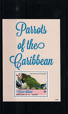 Union Island Gren St Vincent 2014 MNH Parrots of Caribbean I 1v S/S Birds Stamps