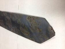 56 x 3.25 Gray Red Tie Necktie OSCAR DE LA RENTA ~ FREE US SHIP (12356)