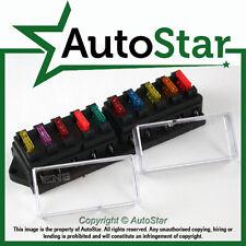 10 Way / Circuit Standard ATO Blade Fuse Box / Holder – 12v & 24v / 12 24 Volt V