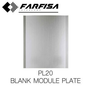 FARFISA PL20 MOD.0 BLANK MODULE BUTTON INTERCOM