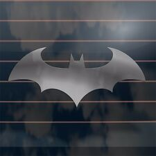 Batman Logo from arkham city Car Sticker 220mm in SILVER