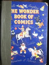 The Wonder Book of Comics with Enid Blyton story (Odhams Press/1950/320 pp) FAIR