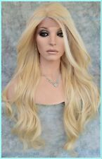 Long Lace Front Wig CALI BLONDE FLOWING SOFT WAVES SEXY FAST SHIP  1310