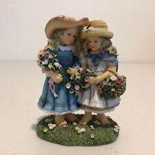 The Leonardo Collection Ceramic Figurine. The Flower Gatherers by C. Haworth#939