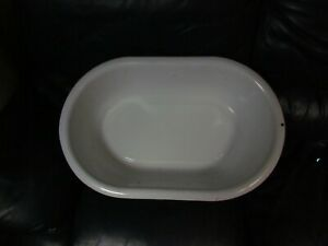 Flintstone Porcelain Enamel Wash Basin Baby Tub