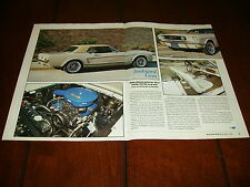 1966 Ford Mustang Gt *Original 1992 Article*
