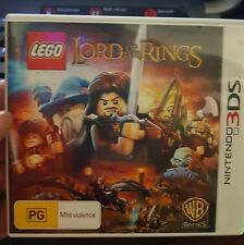 Lego Lord Of The Rings -  NINTENDO 3DS - FREE POST