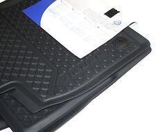 Original VW Gummi Fußmatten Tiguan II MQB Gummimatten schwarz 2-teilig vorn OEM