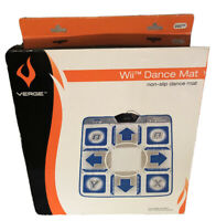 Verge Wii Dance Pad Non Slip Mat New In Box, For Nintendo WIIi
