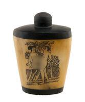 Bottiglia Bottiglietta Boccetta Arte Shunga Erotico Giapponese Vintage 3444