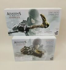 Lot Assassin's Creed Syndicate Assassin's Gauntlet W/Hidden Blade and Cane Sword