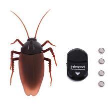 divertida simulación animal cucaracha control remoto infrarrojo travesura