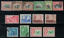 North Borneo - 14 Stamps - MH and Used