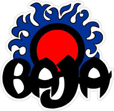 "#448 3.75"" Baja Boat Sun Decal Sticker BLUE Outlaw 322 Sport 280 28 h2x"