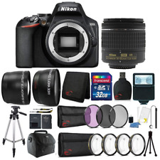 Nikon D3500 24.2MP DSLR Camera +  18-55mm Lens + 55mm Accessory Kit