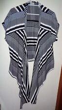 """""""TS"""" Striped Stretch Vest, Size L"""