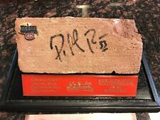 Original Montreal Forum Brick Signed by Patrick Roy - Canadiens - COA - CASE