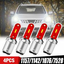 4X 1157 BAY15D 6000K LED Parking Reverse Turn Signal Brake Light Bulb Error Free