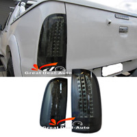 Smoked LED Tail Lights for Toyota Hilux SR5 VIGO MK6 2004-2014 Smoke Rear Lamp