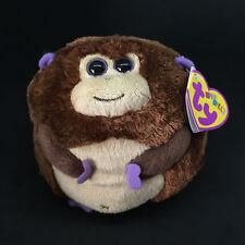 BANANAS Monkey Beanie Ballz by Ty • New Plush Stuffed Animal #38004 NWT