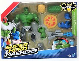 Marvel Super Hero Mashers Incredible Hulk Smash Fist A-Bomb Figure