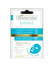 BIELENDA Super Power MEZO Actively Hydrating ANTI-AGE Face Mask hydroplastic 3D