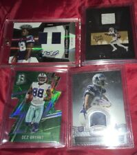 DEZ BRYANT CERTIFIED FRESHMAN FABRIC RC DUAL JERSEY AUTO /349 + RC DIECUT JERSEY