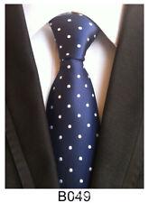 New Classic Paisley Article blue JACQUARD WOVEN Silk Men's Tie Necktie B049