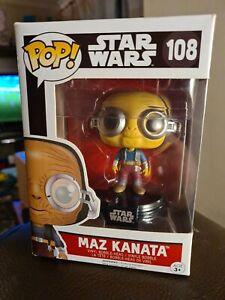 Funko Pop! Star Wars Maz Kanata #108 Vinyl Bobble-Head